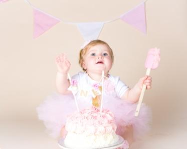 Tahlia Smash Cake-7