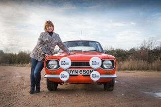 Classic Car shoot with Emma Balaam for AdrianFlux.