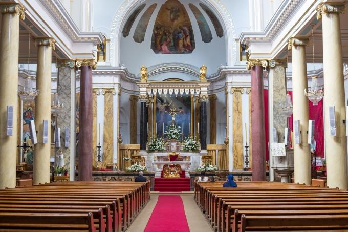 Christening at St Peter's Italian Church In Clerkenwell,London